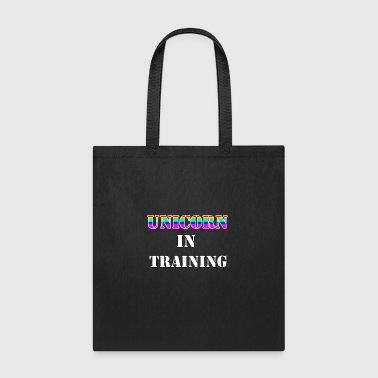 unicorn in training T-SHIRT - Tote Bag