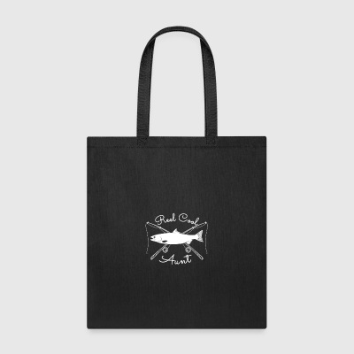 Real Reel Cool Aunt Fishing Shirts and Accessories - Tote Bag