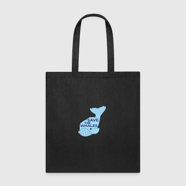 Save The Whales - Tote Bag