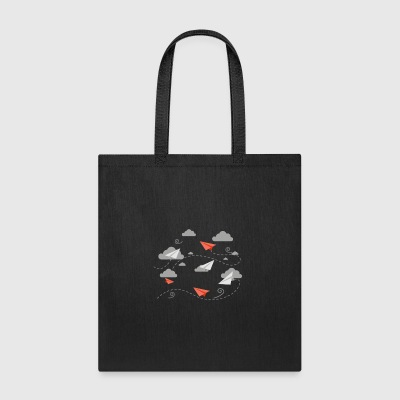 Paper Plane Gift - Tote Bag