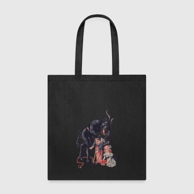 Merry Christmas from Krampus! - Tote Bag