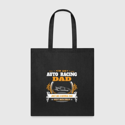 Auto Racing Dad Shirt Gift Idea - Tote Bag