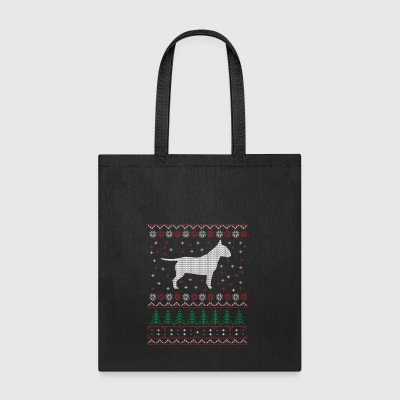 Bullterrier Ugly Xmas Sweater Gift Christmas - Tote Bag