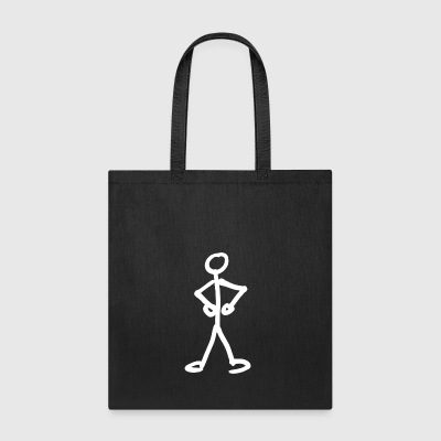 stick figure - Tote Bag