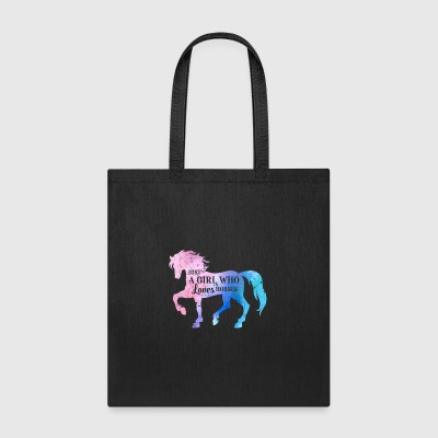 Just a girl loves horses - Tote Bag