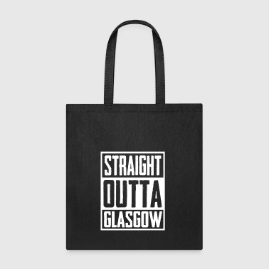 Straight Outta Glasgow - Tote Bag