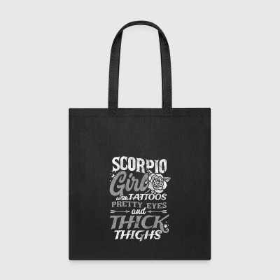 Shirt for scorpio girl as a birthday gift - Tote Bag