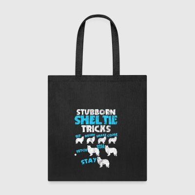 Shirt for stubborn dog owners as a gift - Tote Bag