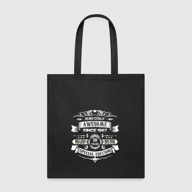 Totally Awesome Since 1967 50th Birthday - Tote Bag