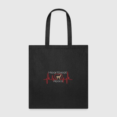 Alpaca heartbeat - Tote Bag