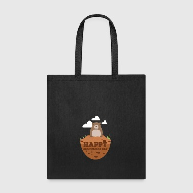 Groundhog Day Cute Gift Geschenk - Tote Bag