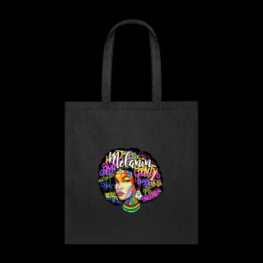 Melanin Afro Queen - Tote Bag