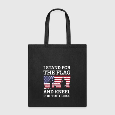 I Stand For The Flag Gift for soldiers and veteran - Tote Bag