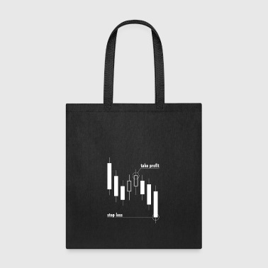 Stop loss and take profit - Tote Bag