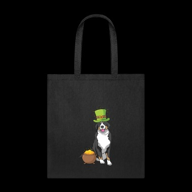Bernese Mountain Dog St Patrick's Day Gift - Tote Bag