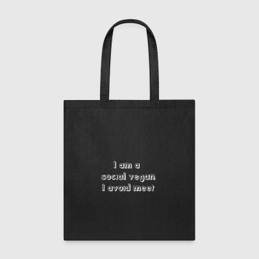 Funny Antisocial Quote Antisocial People gift - Tote Bag