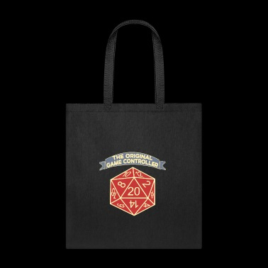 D20 The Original Game Controller Dice - Tote Bag
