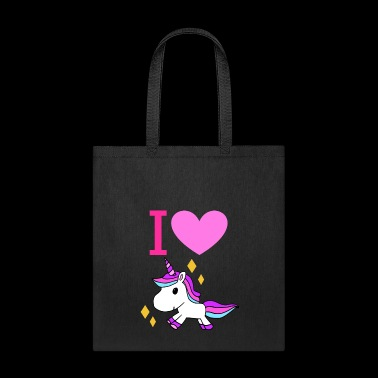I love Unicorns! - Tote Bag