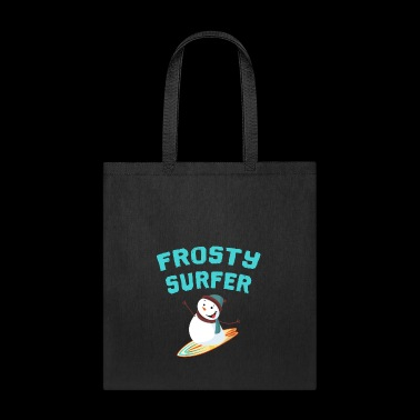 Frosty Surfer - Tote Bag