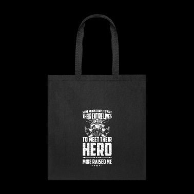 Raised By Hero - Tote Bag