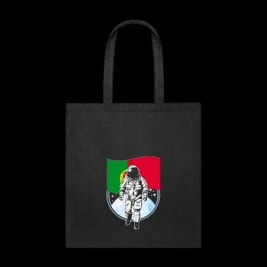 Astronaut moon portugal flag - Tote Bag