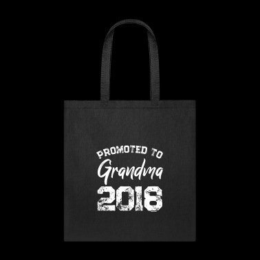 Promoted to Grandma 2018 t shirt - Tote Bag