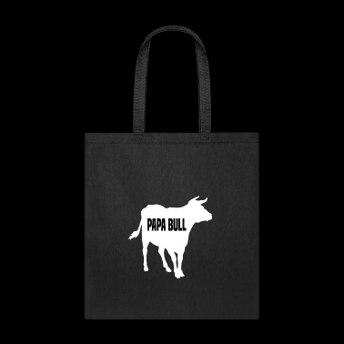 Papa Bull farmer T-Shirt gift - Tote Bag