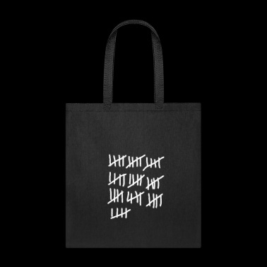 stroked list 50th Birthday - Tote Bag