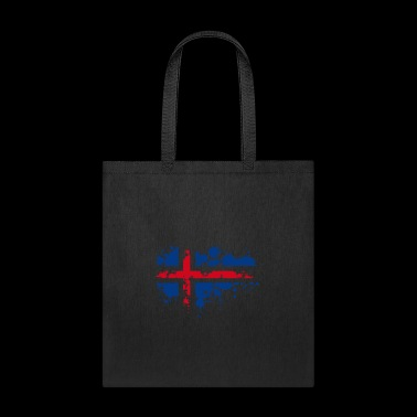 flag norwegian splash Europe scandinavia - Tote Bag