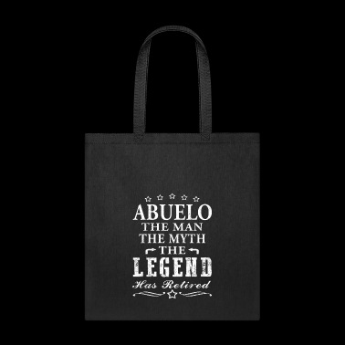 Abuelo Shirt Man Myth Legend Retirement Shirt Grandpa Shirt Grandfather Gift Shirt - Tote Bag