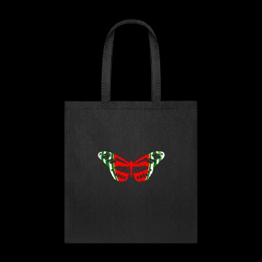 Butterfly Watermelon Summer Fruit Glow Party Funny - Tote Bag