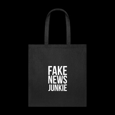 Anti-Trump Fake News Junkie - Tote Bag