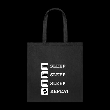 sleepsleepsleep repeat sleep - Tote Bag