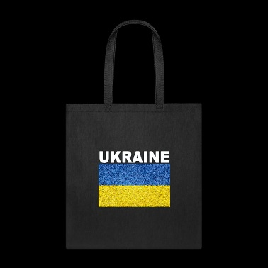 ukraine flag stained glass effect design - Tote Bag