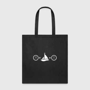 Happy Boat Captain Shirt Love Boating Sailing Shirt River Lake Shirt - Tote Bag