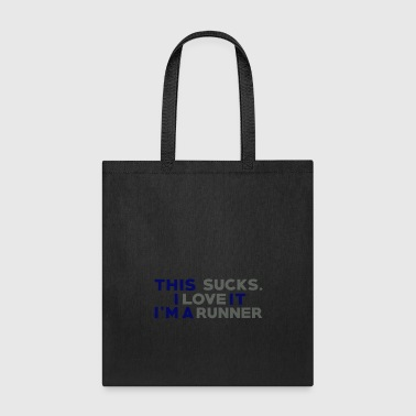 Running jogging race gift idea - Tote Bag