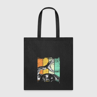 Snake retro - Tote Bag