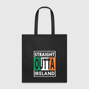 Straight Outta Ireland Cool Irish Birthday Gift - Tote Bag