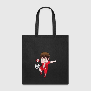 Dab Dabbing Soccer Boy World Cup Peru Gift - Tote Bag