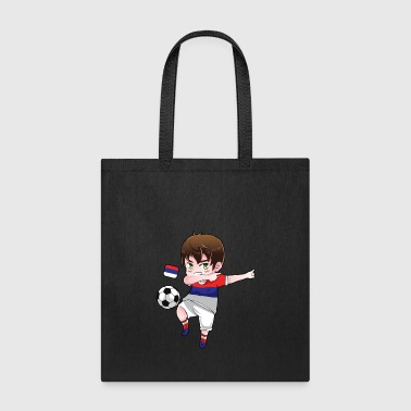 Dab Dabbing Soccer Boy World Cup Russia Gift - Tote Bag