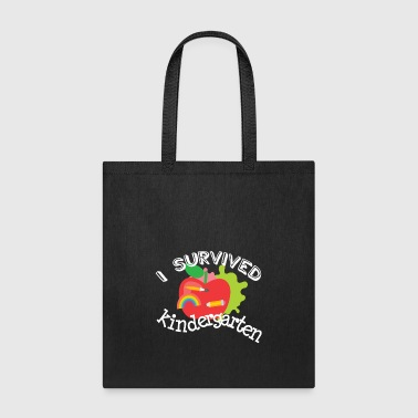 Survive Kindergarten End of Year Graduation Shirt Boys Girls - Tote Bag