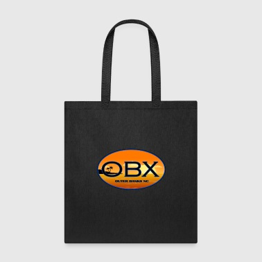 OBX Outer Banks North Carolina Beaches - Tote Bag
