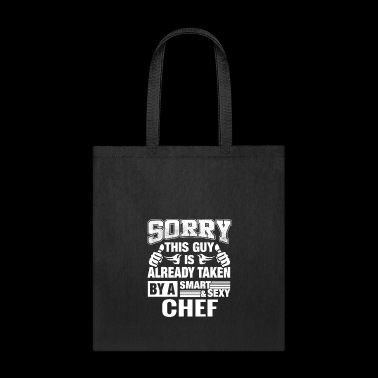 Chef Husband, Lover or Boyfriend Gift Shirt - Tote Bag