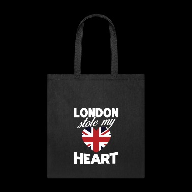 London Stole My Heart United Kingdom National Flag - Tote Bag