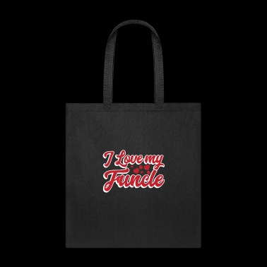 I Love My Funcle T-Shirt Proud Niece Funny Fun - Tote Bag