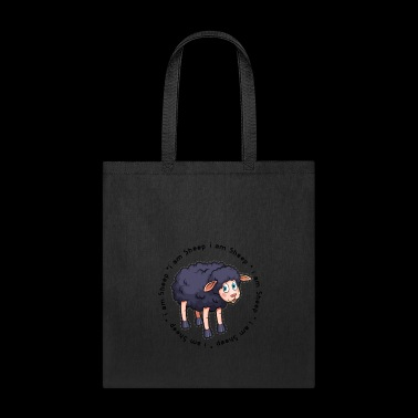 Black Sheep i am a sheep i am a black sheep gift - Tote Bag