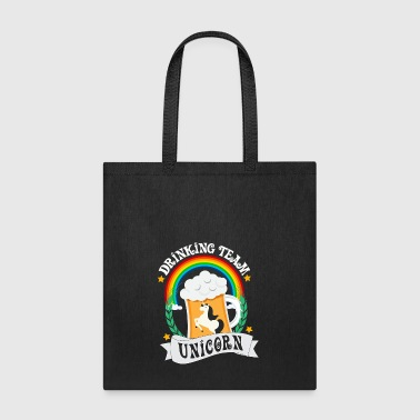 Drinking team unicorn - Tote Bag