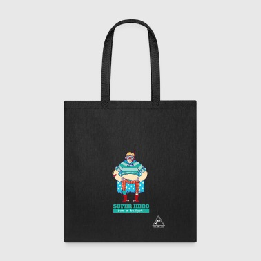 SUPER HERO on a budget - Tote Bag