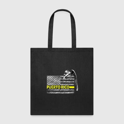 Puerto Rico Police Dispatcher Flag Gifts Shirt - Tote Bag