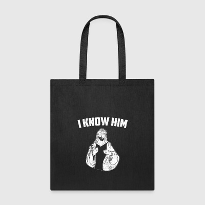 Christian Jesus Faith I Know Him Youth Ministry - Tote Bag